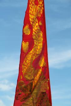 Drachenfahne, Bali-Fahne 3 und 5 m