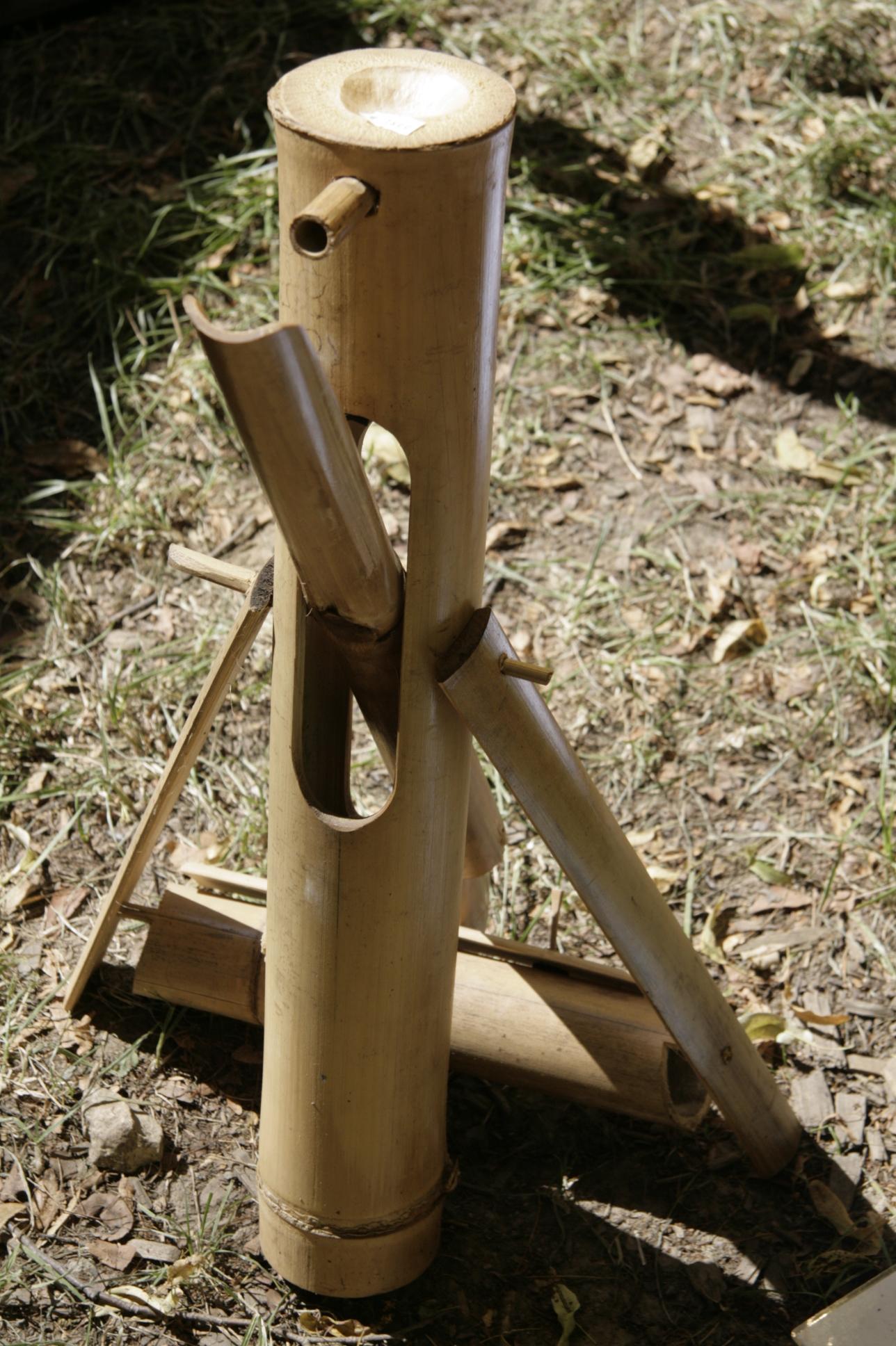 wasserspiel wasserschaukel aus bambus online kaufen. Black Bedroom Furniture Sets. Home Design Ideas